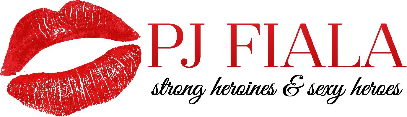 Romance Author PJ Fiala — Logo