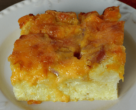Gluten Free Over-night Holiday Breakfast Casserole