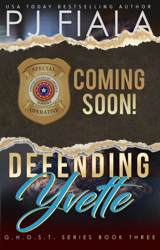 Defending Yvette, GHOST Book Three
