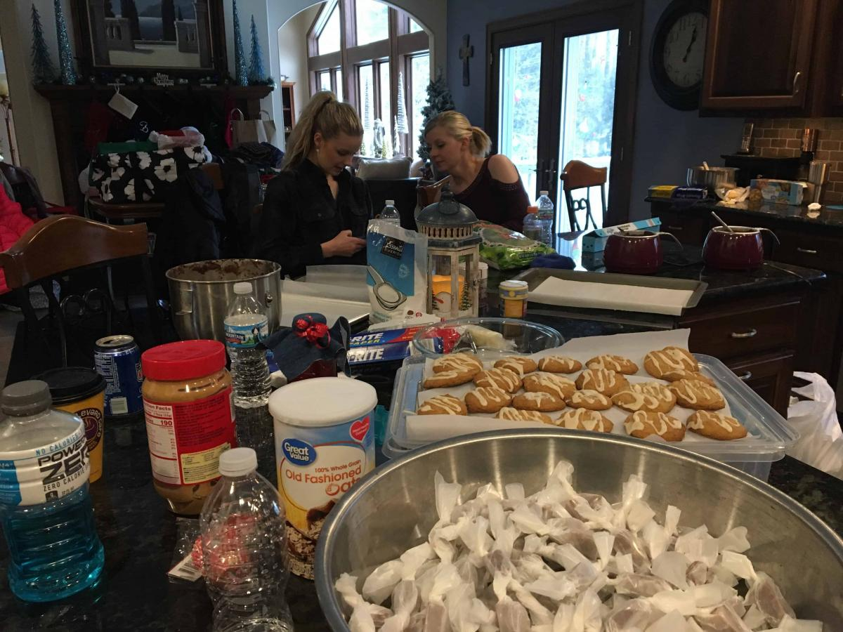 Cookie Bake 2017 - Shaina and Jes